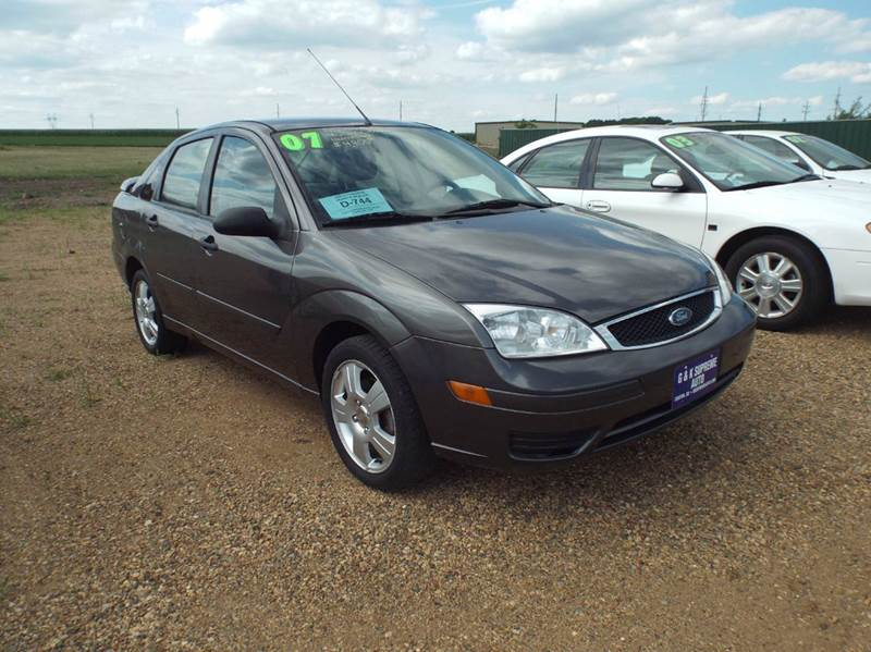2007 ford focus zx4 ses 4dr sedan in canton sd g k supreme. Black Bedroom Furniture Sets. Home Design Ideas