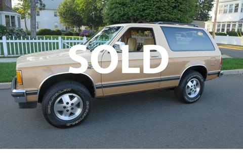 1986 Chevrolet S-10 Blazer for sale in Milford, CT