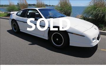 1988 Pontiac Fiero for sale in Milford, CT