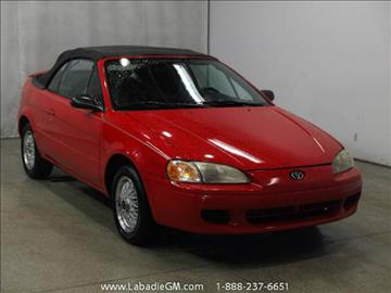 1997 Toyota Paseo for sale in Bay City, MI