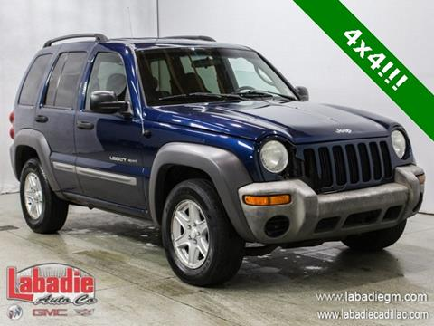 2002 Jeep Liberty for sale in Bay City, MI