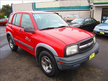 2001 Chevrolet Tracker for sale in Salem, OR