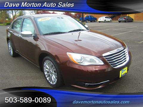2012 Chrysler 200 for sale in Salem, OR