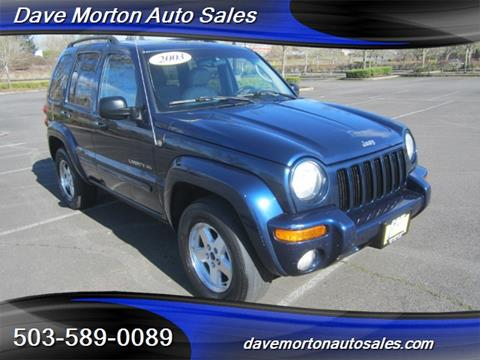 2003 Jeep Liberty for sale in Salem, OR