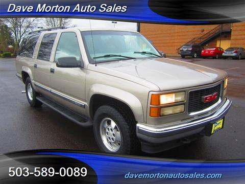 Paso Robles Gmc >> 1999 Gmc Suburban For Sale In Salem Or