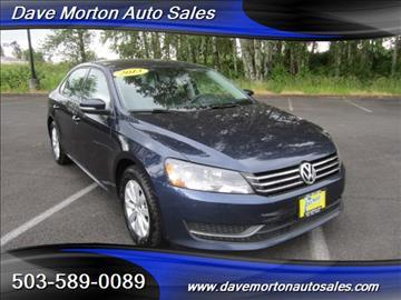 2013 Volkswagen Passat for sale in Salem, OR