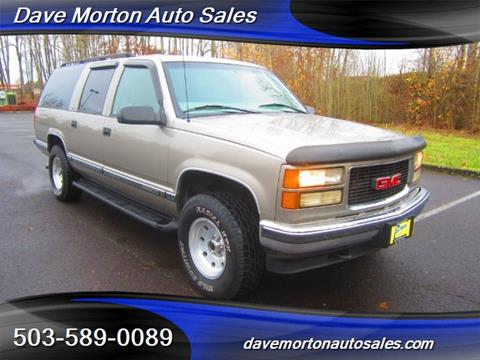 1999 GMC Suburban for sale in Salem, OR