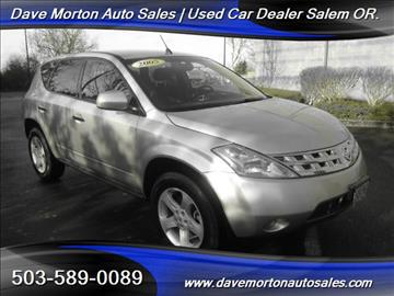 2005 Nissan Murano for sale in Salem, OR