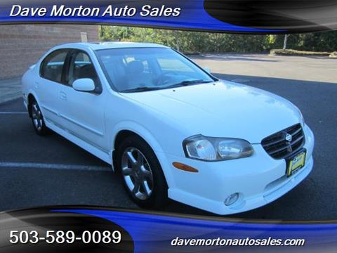 2001 Nissan Maxima for sale in Salem, OR