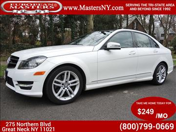 Mercedes benz c class for sale new york for Mercedes benz poughkeepsie ny
