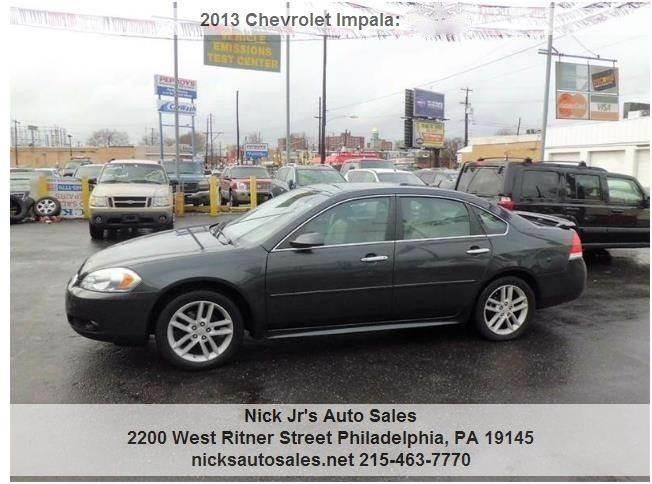 used pre fwd sedan chevrolet ltz inventory impala owned