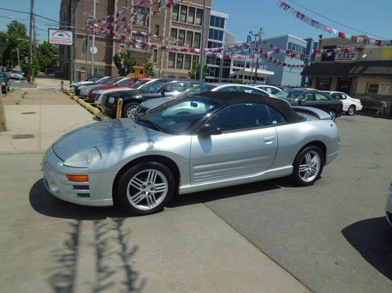 2003 mitsubishi eclipse spyder gt 2dr convertible in philadelphia pa nick jr 39 s auto sales. Black Bedroom Furniture Sets. Home Design Ideas
