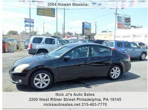 2004 Nissan Maxima for sale in Philadelphia, PA