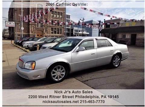 Majeski Motors Sterling Il >> 2001 Cadillac DeVille For Sale - Carsforsale.com