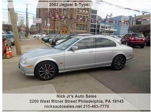 2002 Jaguar S Type For Sale In Philadelphia, PA