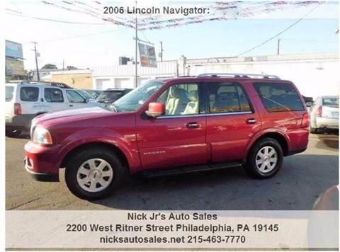2006 Lincoln Navigator for sale in Philadelphia, PA