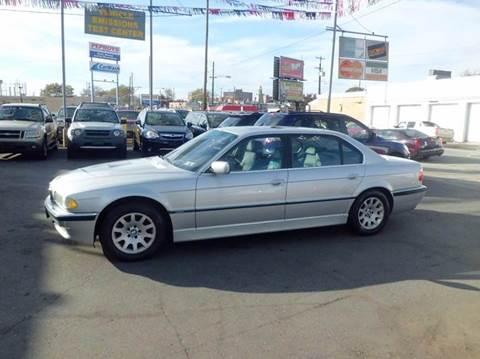2001 BMW 7 Series For Sale In Philadelphia PA