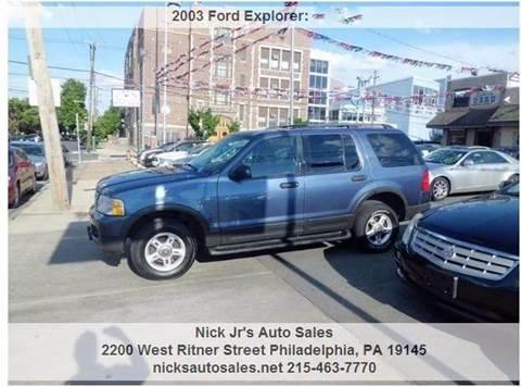 2003 Ford Explorer for sale in Philadelphia, PA