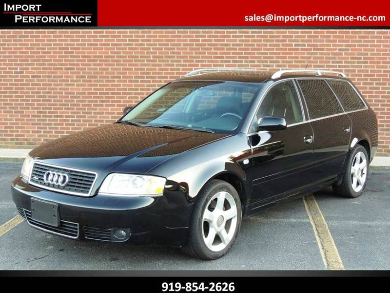 Audi Wilmington Nc >> 2003 Audi A6 for sale in Raleigh, NC