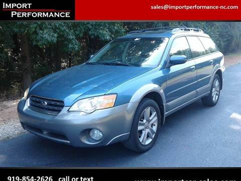 2007 Subaru Outback for sale in Raleigh, NC