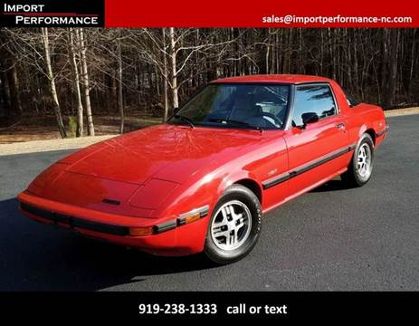1984 Mazda RX-7 for sale in Raleigh, NC