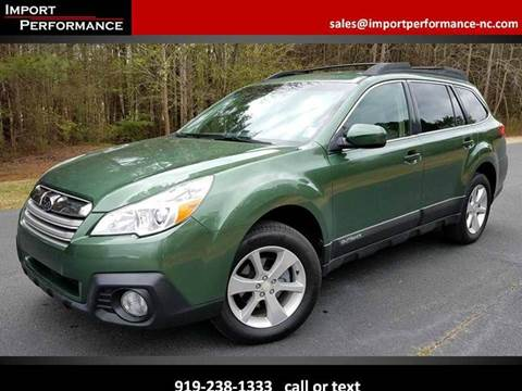2013 Subaru Outback for sale in Raleigh, NC