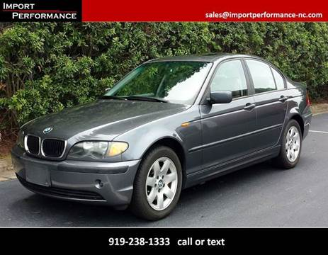 2002 BMW 3 Series for sale in Raleigh, NC