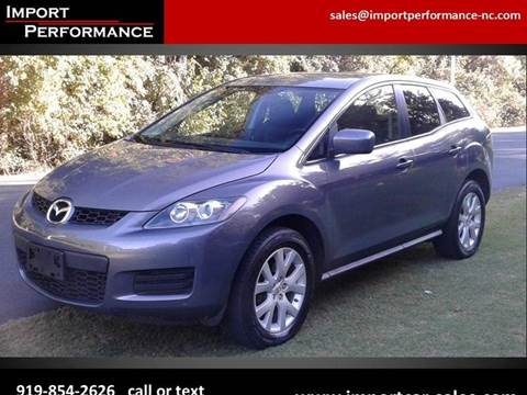 2009 Mazda CX-7 for sale in Raleigh, NC
