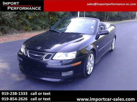 2004 Saab 9-3 for sale in Raleigh, NC