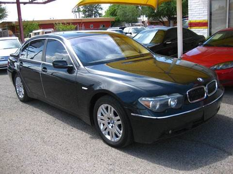 2002 BMW 7 Series For Sale In Tucson AZ