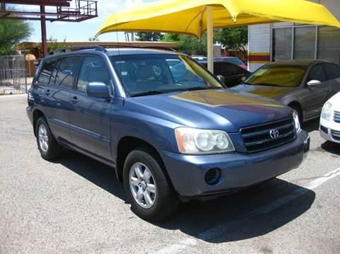 2003 Toyota Highlander for sale in Tucson, AZ