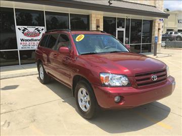 2007 Toyota Highlander for sale in Magnolia, TX