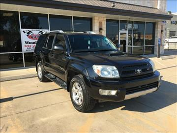 2003 Toyota 4Runner for sale in Magnolia, TX
