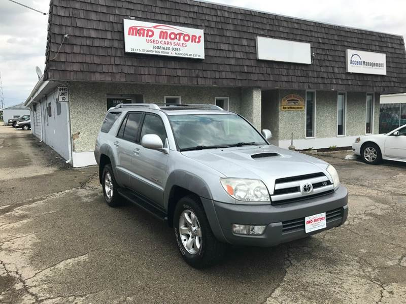 2003 Toyota 4Runner Sport Edition 4WD 4dr SUV - Madison WI