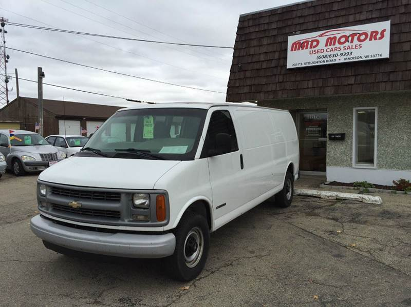 2001 Chevrolet Express Cargo For Sale