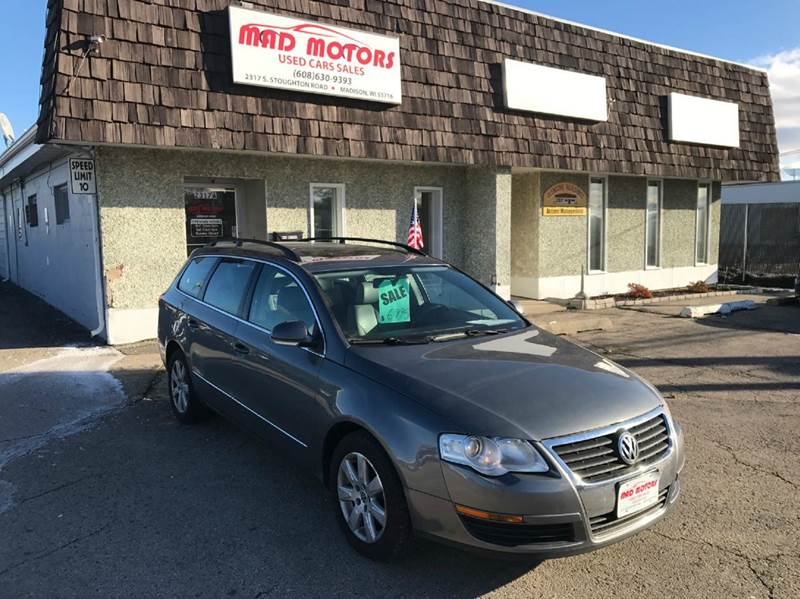 2007 Volkswagen Passat 2 0t 4dr Wagon N A 06 06 2l I4 6a In Madison Wi Mad Motors