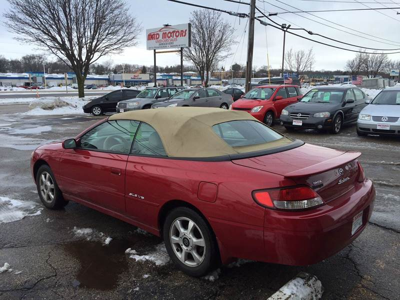 2000 Toyota Camry Solara Sle V6 2dr Convertible In Madison Wi Mad Motors