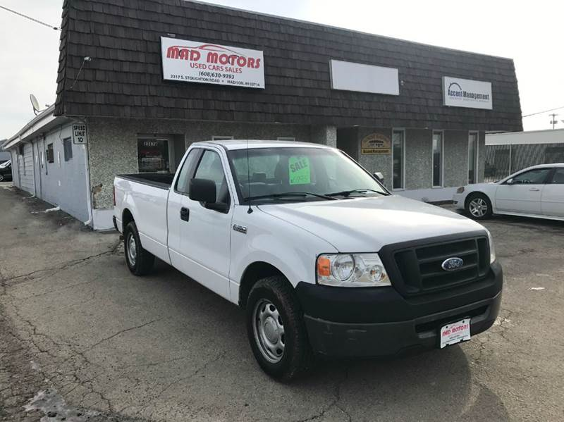 2008 Ford F 150 4x2 Xl 2dr Regular Cab Styleside 8 Ft Lb