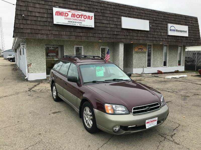 2001 Subaru Outback Awd 4dr Wagon In Madison Wi Mad Motors