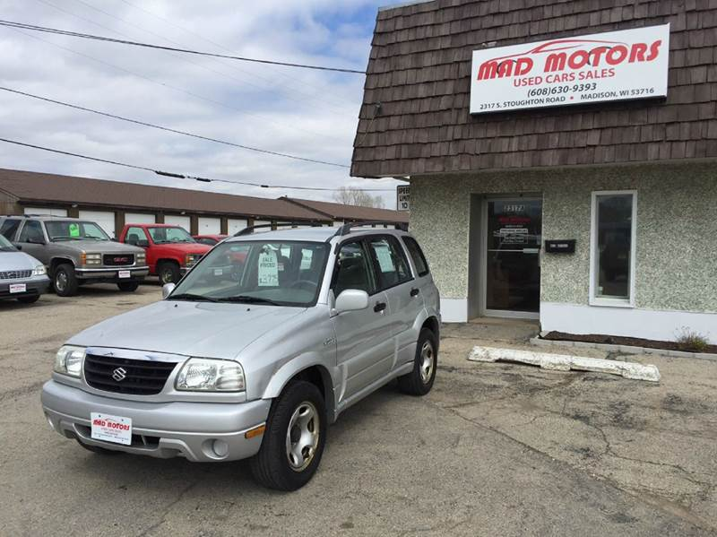 2001 Suzuki Grand Vitara Jlx 4wd 4dr Suv In Madison Wi