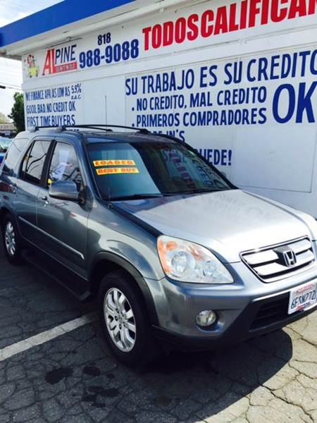 2005 HONDA CR-V SPECIAL EDITION AWD 4DR SUV gray abs - 4-wheel cassette cd changer center cons