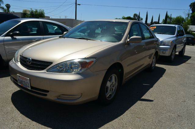 2002 TOYOTA CAMRY SE V6 4DR SEDAN gold abs - 4-wheel anti-theft system - alarm cassette center