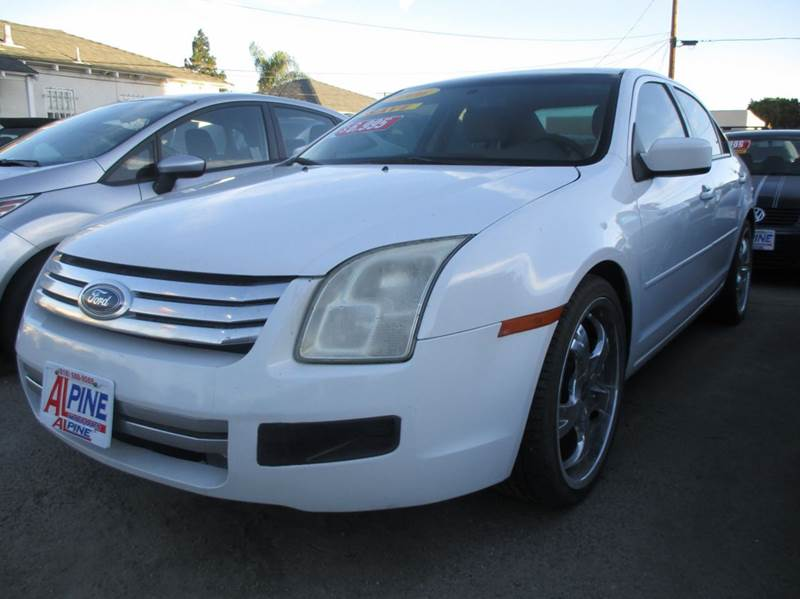 2006 FORD FUSION I4 SE 4DR SEDAN we have thousand of satisfied customer with rates starting as lo