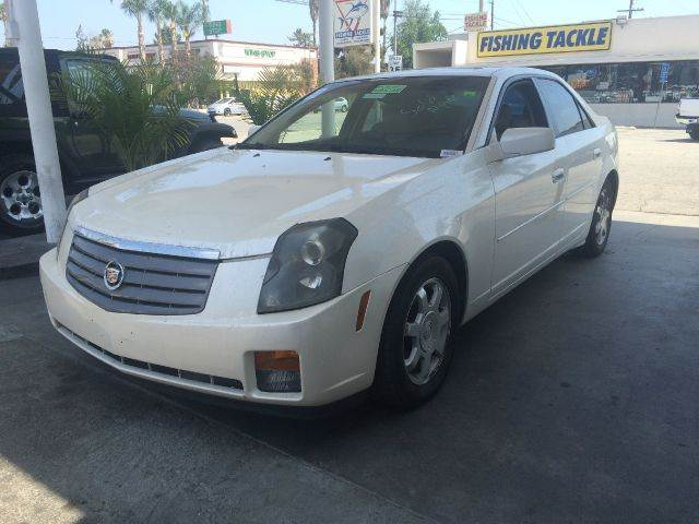 2004 CADILLAC CTS BASE 4DR SEDAN white abs - 4-wheel center console clock cruise control dayt