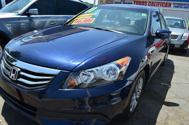 2011 HONDA ACCORD LX-P 4DR SEDAN blue abs - 4-wheel active head restraints - dual front air fil