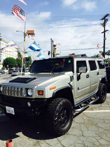 2004 HUMMER H2 BASE 4WD 4DR SUV brown abs - 4-wheel anti-theft system - alarm axle ratio - 410