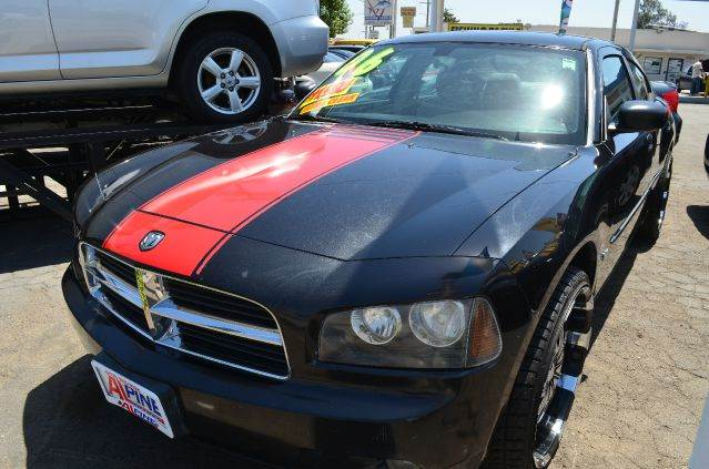 2006 DODGE CHARGER SE 4DR SEDAN blackred abs - 4-wheel airbag deactivation - occupant sensing p