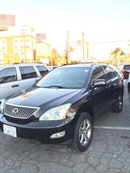 2004 LEXUS RX 330 BASE 4DR SUV black abs - 4-wheel anti-theft system - alarm cd changer center