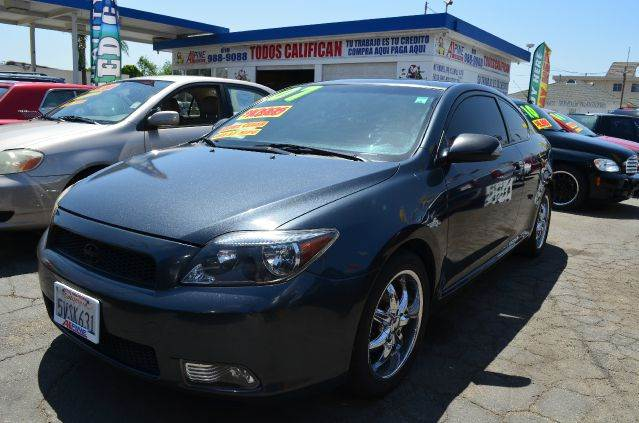 2007 SCION TC SPEC 2DR HATCHBACK 24L I4 4A gray 2-stage unlocking - remote abs - 4-wheel ant