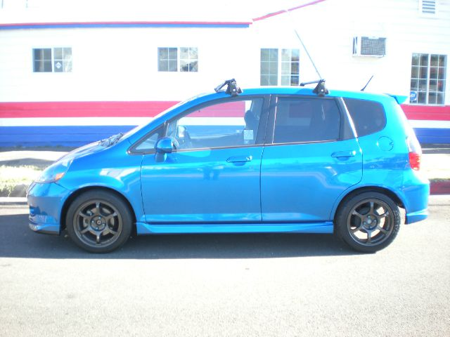 2008 HONDA FIT SPORT HATCHBACK blue abs - 4-wheel air filtration anti-theft system - alarm with